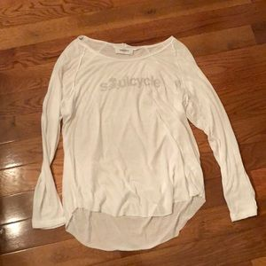 SoulCycle long sleeve top